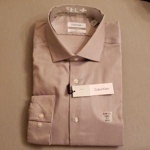 📍 COPY - Calvin Klein Steel Slim Fit Dress Shirt
